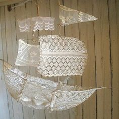 """""""I have sails, I have fashioned from lace."""""""