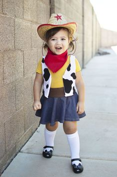 You've got a friend in this easy 'Toy Story' Woody Halloween costume for your son or daughter. #halloween #halloweencostumes #halloweencostumeideas #halloweencostumesforkids #kidshalloweencostumes #homemadecostumes #diyhalloweencostumes #diyhalloween