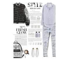 """""""Untitled #2502"""" by amimcqueen ❤ liked on Polyvore featuring Abercrombie & Fitch, Converse, Shabby Chic, Terre Mère, philosophy, BOBBY, Urbanears, WithChic, Frank & Eileen and Chantecaille"""