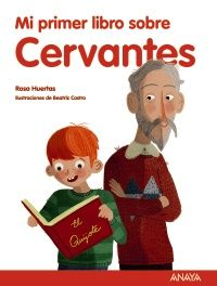 """Lucas vive en un edificio en el centro de la ciudad. Un día, en clase, ve un retrato en el libro de Lengua de Miguel de Cervantes, el escritor de """"Don Quijote de la Mancha"""", y se da cuenta de que su vecino se parece mucho a él.  Poco a poco, Lucas va encontrando más coincidencias. ¿No será que, en realidad, su vecino es Cervantes? ¿Habrá atravesado el túnel del tiempo?  A partir de ese momento, lo que a Lucas realmente le gustaría sería salir en uno de los libros del escritor. ¿Lo…"""