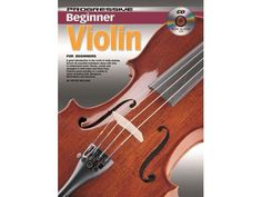 New Progressive Beginner Violin Book & CD - BC Wholesalers. A great introduction to the world of violin, playing for the complete beginner. Full colour photos and diagrams explain all the essential techniques in first position. Learn to read music with easy to understand music theory including note values, scales and key signatures. Play along with the high quality backing tracks which feature contemporary and well known melodies in a variety of styles