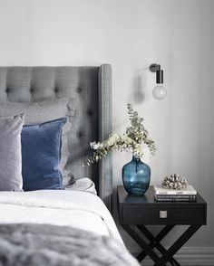 Heatherly Design offers a simply stunning range of upholstered bedheads, fully upholstered beds, footstools and storage boxes for the discerning designer. Dresser As Nightstand, Floating Nightstand, Girls Bedroom, Master Bedroom, Bedrooms, Bedroom Ideas, How To Make Bed, Bedroom Furniture, Living Room