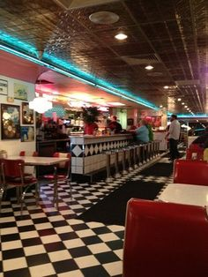 Old School Diner.... Troy's Diner Boone, NC... One of my favorite stops along the way :)
