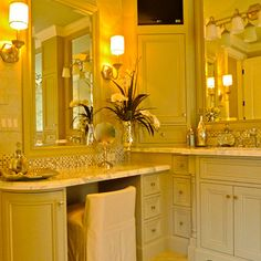 Old Hollywood Glamour Design, Pictures, Remodel, Decor and Ideas Glamour Décor, Hollywood Glamour Decor, Old Hollywood Style, Hollywood Regency, Cabin Bathroom Decor, Log Cabin Bathrooms, Home Decor, Decoration, Furniture Decor
