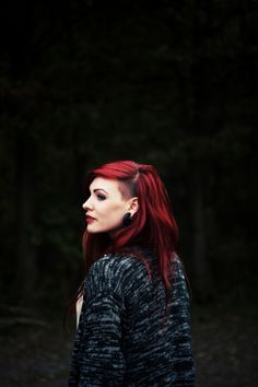 Red Hair side shave