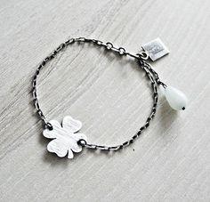 KSZU- Silver Lucky Bracelet [pr925] Bracelets, Silver, Jewelry, Jewlery, Jewerly, Schmuck, Jewels, Jewelery, Bracelet
