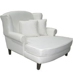 """""""Louis XV"""" ISABELLA French Country Chaise Lounge (Daybed) - French White"""
