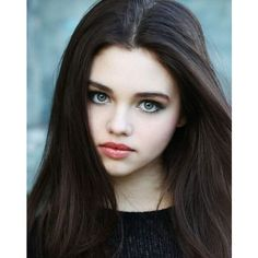 India Eisley ❤ liked on Polyvore featuring hair and people