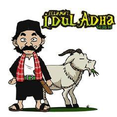 Animasi Bergerak Idul Adha 2015