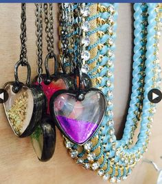 Handmade / girly / sparkle every day only at The Jewellery Crush  On great George street Leeds city