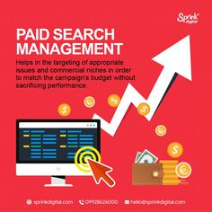 Our dedicated team of experts provides highly productive online advertisement campaigns and analyses your business market, resulting in increased traffic and higher ROIs.