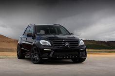 ml 63 2014 | Mercedes-Benz ML63 AMG Inferno Black by TopCar Mercedes-Benz ML63 AMG ...