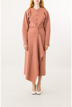 shirt dress - Lemaire online shop Minimal Dress, Fashion Forecasting, Fashion Details, Fashion Design, Runway Fashion, Womens Fashion, African Print Fashion, Chic Dress, Muslim Fashion