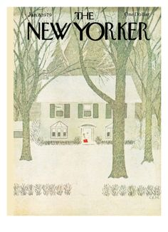 The New Yorker Cover - January 8, 1979 Giclee Print by Charles E. Martin at Art.com