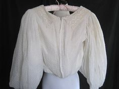 Antique blouse 1900 1910 Edwardian Downton by vintageboxofdelights