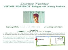 Map to reach our super show location at SavHotel during LineaPelle fair. VINTAGE WORKSHOP® BOLOGNA for Luxury Fashion is the most exclusive Vintage event in Italy if you look for 1-of-a-kind, rare, highly sought after collectable Vintage accessories as shoes, handbags, belts, small fancy leather items available for sell or rent with pick-up directly on the spot. If you work in the fashion sector and need inspirations and ideas, as if you are a real Vintage addict, this will be unmissable!!