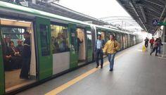 #FOTOS: #MetrodeLima puso a disposición de los usuarios 12 nuevos #trenes