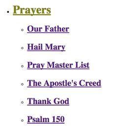 Reproducible Worksheets on Prayer