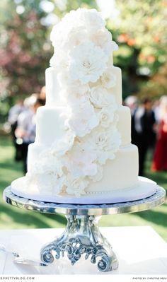 Classic wedding cake!  | Photography: Christine Meintjes Photography |
