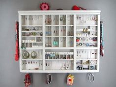 I so want one of these jewelry displays from Luxembourg by Delphine Penen.