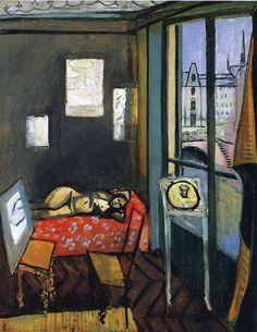 Studio, Quay of Saint-Michel, 1916 Henri Matisse