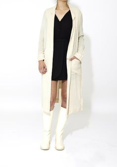 Raquel Allegra - Cotton Trench Coat by Celestine Eleven Trench, Duster Coat, Fancy, Cotton, Jackets, Stuff To Buy, Shopping, Fashion, Down Jackets