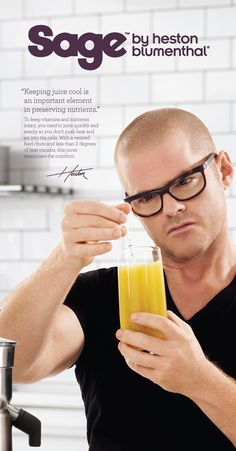 Heston explains the science behind the Nutri Juicer Pro™
