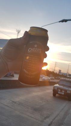 Cheers lager in #bangkok