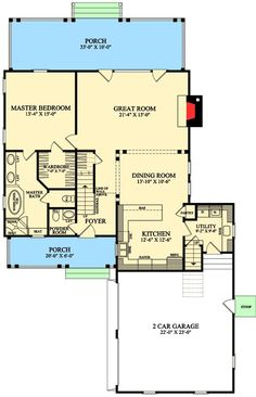 Plan DB 3 Bed Home Plan With Drop Zone