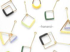 (再販)-hanaroi-のiroiro① イヤリング(ピアス)