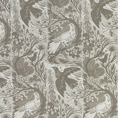 Doveflight fabric by Mark Hearld - Have this as a pillow and love it!