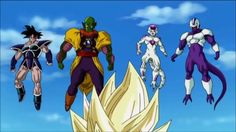 Devilzsmile.com: Dragon Ball Z-Z-Fighters vs Frieza Cooler Turles Lord Slug (Ghost Warriors) Dragon Ball Z, Superhero Memes, Dbz, Bowser, Superman, Battle, Marvel, Slug, Anime