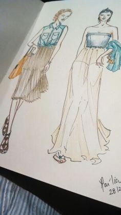 Shirts&Skirts #shirts #skirt #fashiondesign #fashion