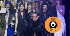 EVEN BEFORE Beth Ditto pushed herself through the crowd that gathered to cheer on fashion's 'enfant terrible', the backdrop told the audience everything about the forthcoming Jean Paul Gaultier show.