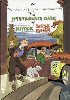 Les Aventures de Tintin - Album Imaginaire - The Mysterious Case of Mister Singh Singh