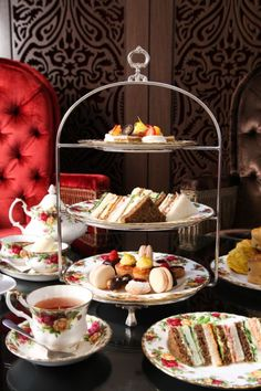 High Tea, The Tea Room