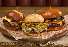 Three new signature burgers are now available at Lucille's Bar-B-Que restaurant in Temecula.