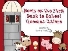 Theme - Classroom Decor Farm Theme - Decorations and Decor - TpTFarm Theme - Decorations and Decor - TpT Preschool Lesson Plans, Preschool Classroom, Classroom Themes, Preschool Ideas, K Crafts, Farm Crafts, Kindergarten First Week, Welcome To Class, Farm Lessons