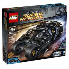 Take on the challenge of building The Tumbler an amazingly cool LEGO model of the iconic vehicle from the Batman The Dark Knight Trilogy. Construct this black armored vehicle highlighted with new col...
