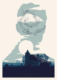 True Detective by Javier Vera Lainez, via Behance