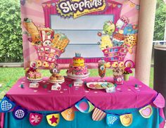 "Shopkins / Birthday ""Natalie's Shopkins 5th Birthday Party""   Catch My Party"