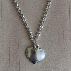 Sterlng Silver Heart Charm Bracelet