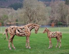 Amazing Animal Sculptures Made from Tree Roots 5 - https://www.facebook.com/different.solutions.page