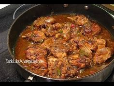 Jamaican Brown Stew Chicken Recipe & other Jamaican recipes