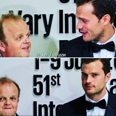 Jamie with Toby Jones at the Karlovy Vary International Film Festival today (July 1, 2016) in Prague, promoting Anthropoid. Pics courtesy of @getfirstlook #jamiedornan #ameliawarner #anthropoid #christiangrey #fiftyshades #fiftyshadesdarker #fiftyshadesofgrey #fiftyshadesfreed #fiftyshadestrilogy #karlovyvary #karlovyvaryfilmfestival #czechrepublic #prague #onceuponatime #thefall #paulspector #sheriffgraham #kviff