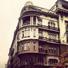 Beograd, Srbija. Zgrada. Belgrade, Serbia. Building. Architecture.