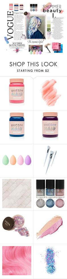 """""""Unicorn Girl"""" by leazyns on Polyvore featuring moda, Lime Crime, Birchrose + Co., beautyblender, Unicorn Lashes, By Terry, In Your Dreams, Givenchy y unicornhair"""