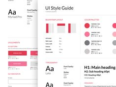 Style Guide – e-commerce app – corporate style Website Style Guide, Web Style Guide, Brand Style Guide, Style Guides, Design Guidelines, Brand Guidelines, Web Design, Print Design, Graphic Design