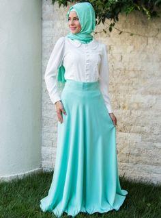 Verev Etek 2000 - Mint Yeşili - Pınar Şems
