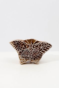 Hand Carved Stamps Butterfly